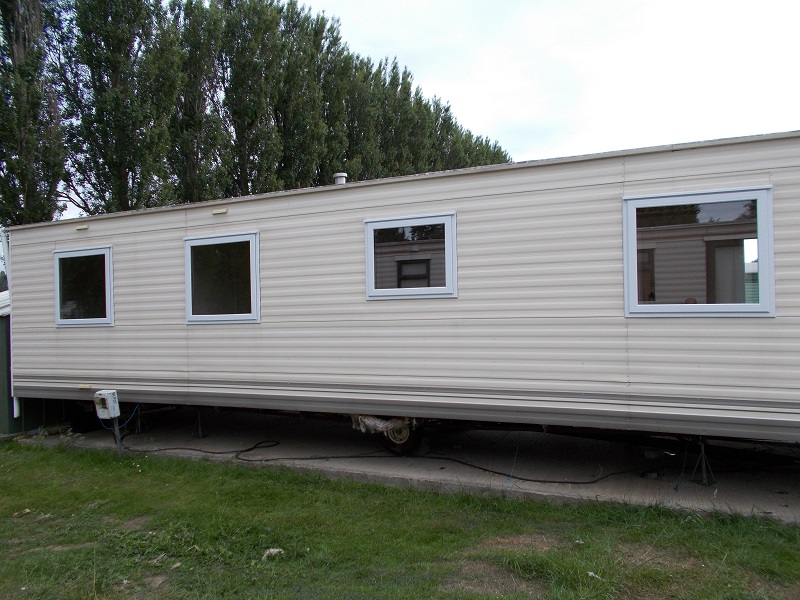 slimline upvc static caravan windows in Northampton