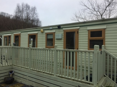 Irish oak caravan double glazing Carmarthenshire