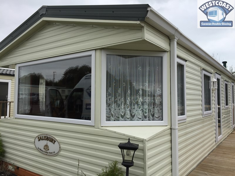 slimline static caravan double glazing in Essex