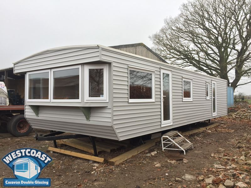 static caravan external cladding