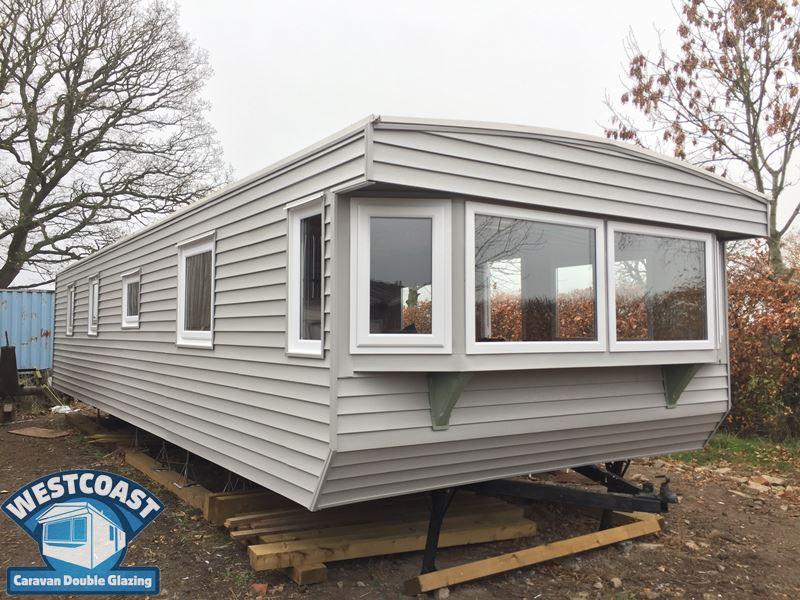 Cladding for Caravans Park Homes