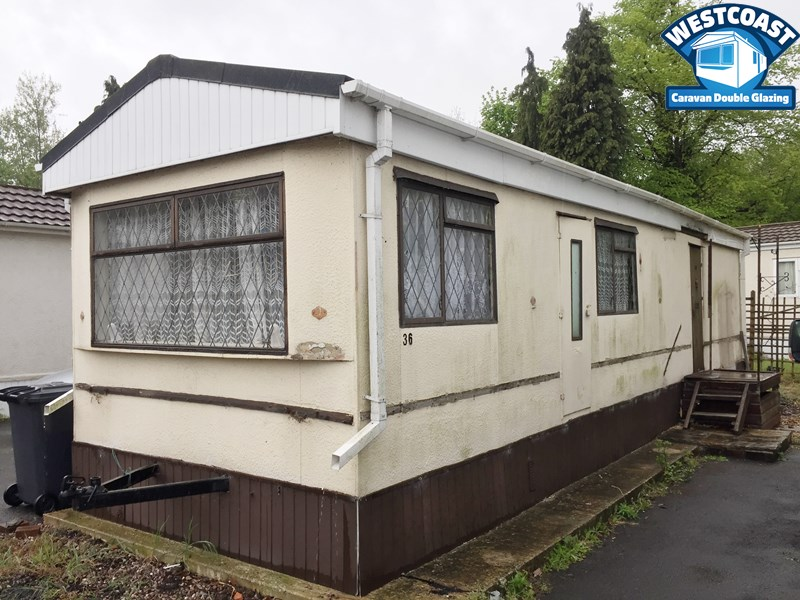 external vinyl cladding for park homes and static caravans