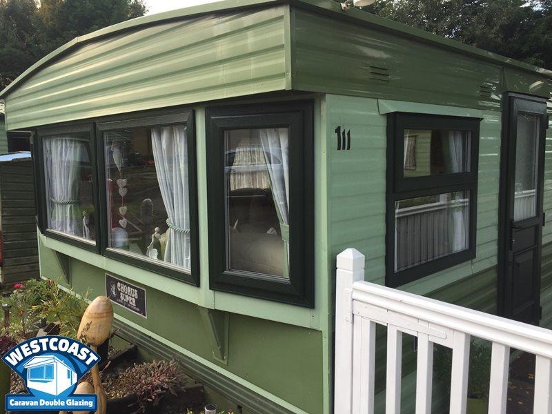 static caravan double glazing in Welshpool , Powys