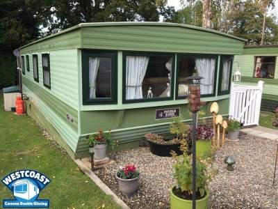 Static caravan double glazing Welshpool, Powys