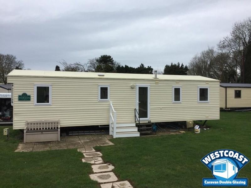 static caravan double glazing in Dorset