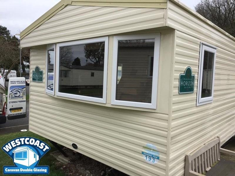 slimline static caravan windows in Dorset