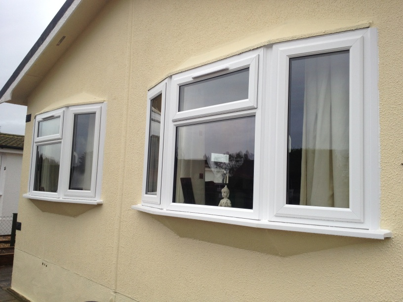 slimeline upvc double glazing for windows for park homes