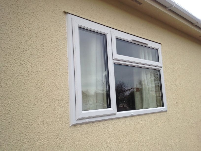 park home replacement double glazing