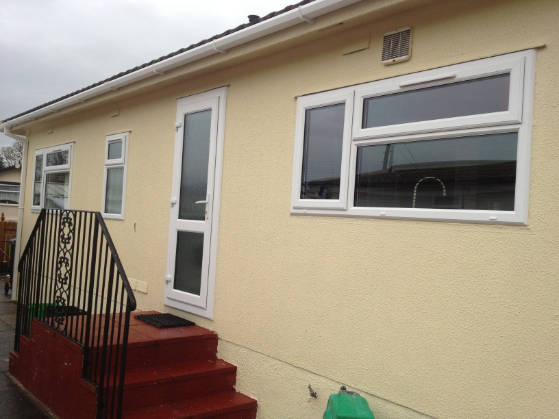 Double glazing windows for park homes