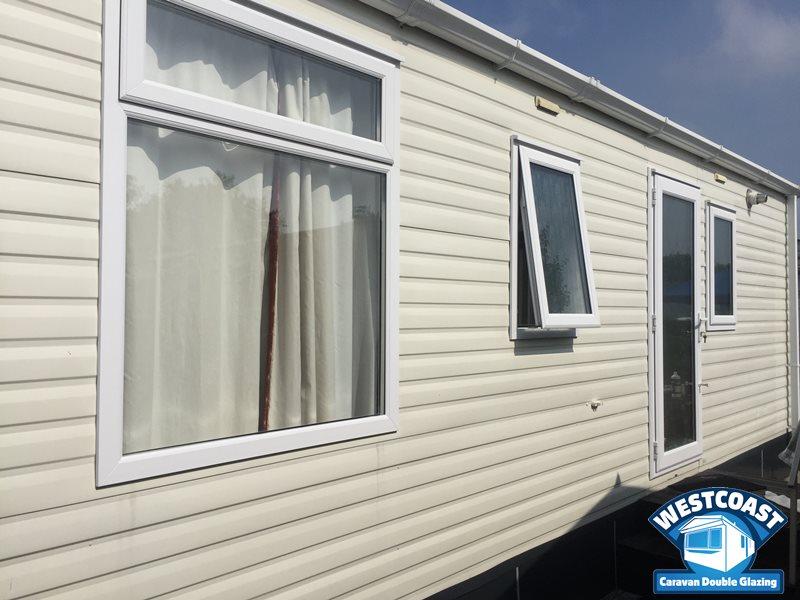 static caravan double glazing installers in Devon