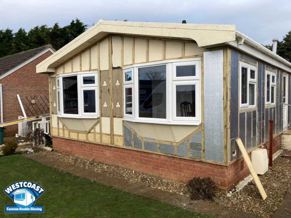 Cladding for Park Homes