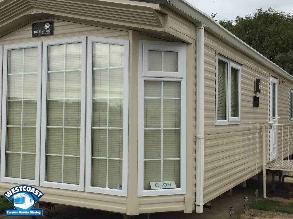 static caravan double glazing in Hampshire