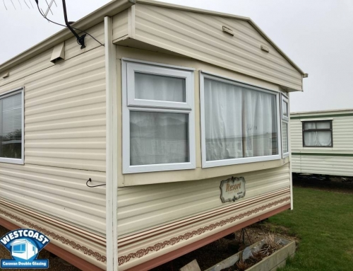static caravan double glazing installation in Norfolk
