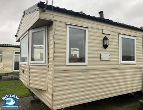 slimline static caravan double glazing windows and doors installers in Somerset