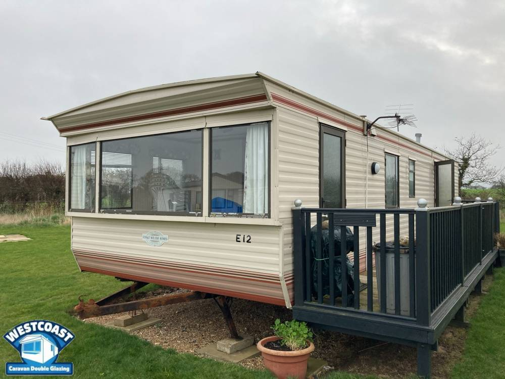 replacement static caravan double glazing in Cornwall