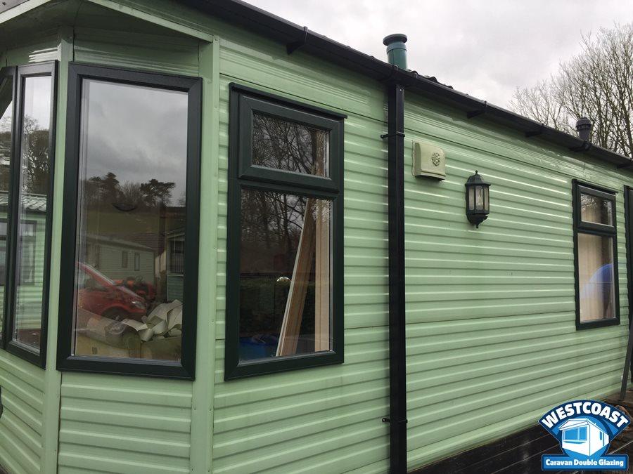 static caravan double glazing Porthcawl , South Wales