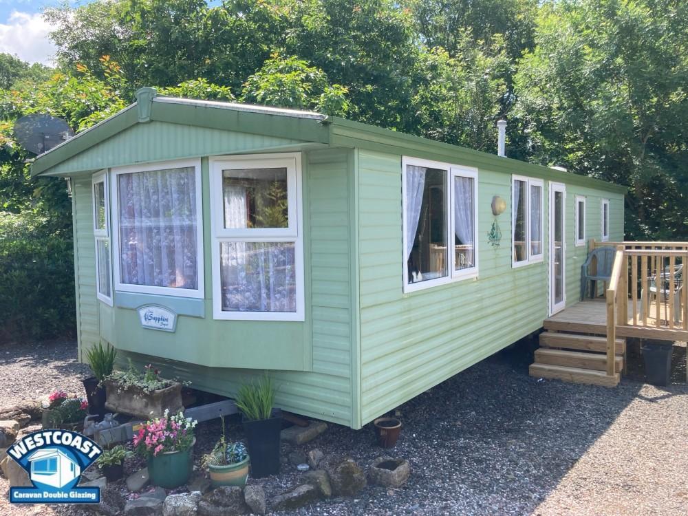 static caravan double glazing in Prestatyn North Wales