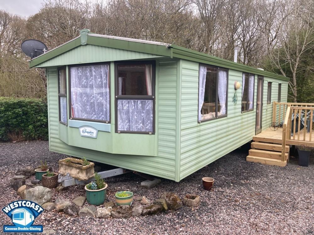 static caravan double glazing in Prestatyn